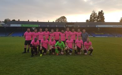 Emersons vs Medlocks Charity Football Match 8th May 2018